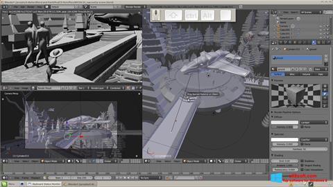 Zrzut ekranu Blender na Windows 8