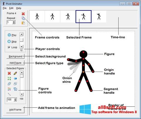 Zrzut ekranu Pivot Animator na Windows 8