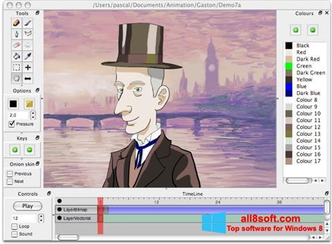 Zrzut ekranu Pencil na Windows 8