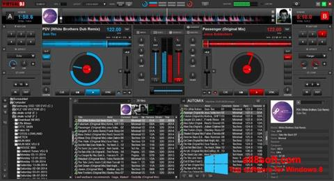 Zrzut ekranu Virtual DJ na Windows 8