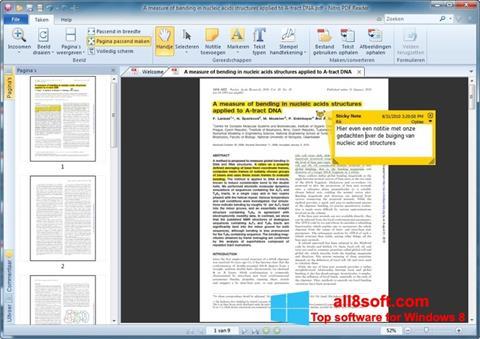 Zrzut ekranu Nitro PDF Reader na Windows 8