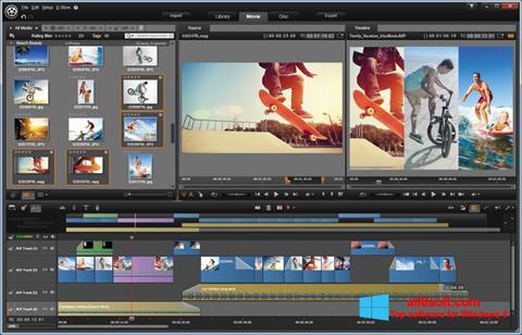 Zrzut ekranu Pinnacle Studio na Windows 8