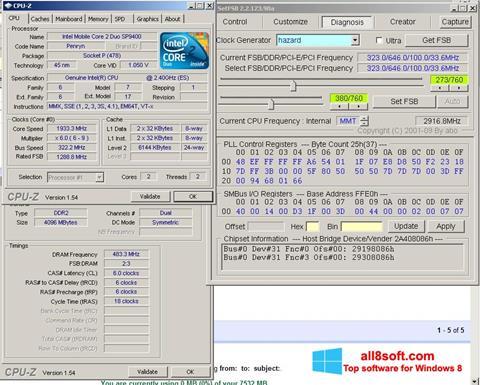 Zrzut ekranu SetFSB na Windows 8