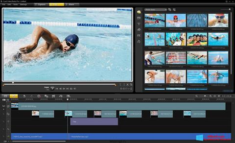 Zrzut ekranu Corel VideoStudio na Windows 8