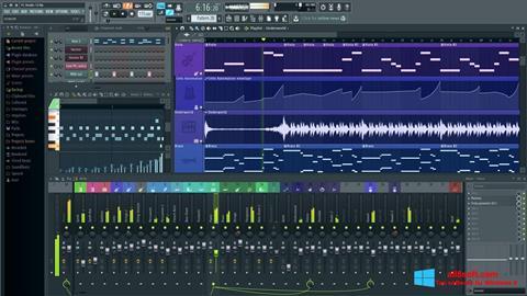 Zrzut ekranu FL Studio na Windows 8