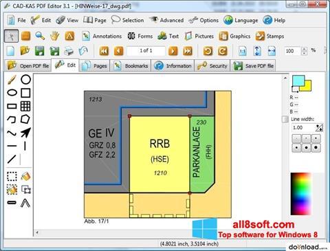 Zrzut ekranu PDF Reader na Windows 8