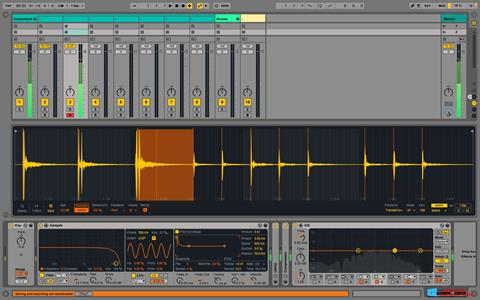 Zrzut ekranu Ableton Live na Windows 8